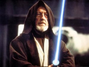 photo of Obi Wan Kenobi from Star Wars