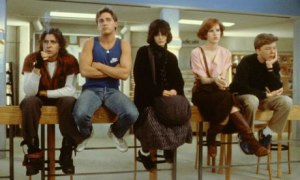 image of the characters from the film The Breakfast Club