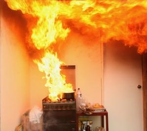 Hot-Oil-fire