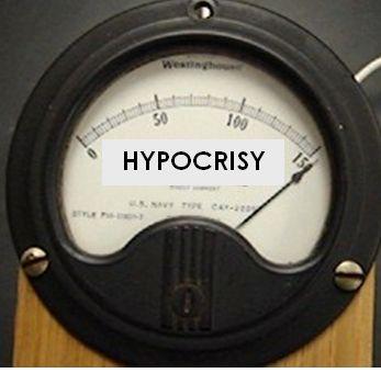 hypocrisy award