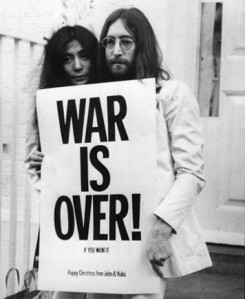 John Lennon Yoko Ono War is Over