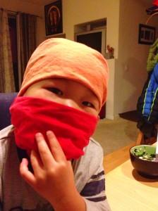 Fox as Ninja