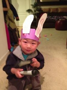 Fox Easter Bunny
