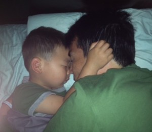 son sleeping