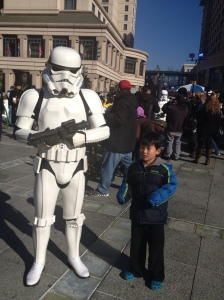 Jett with Stormtrooper