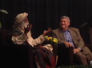sadhguru at Stanford