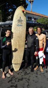 surfing with Mitch
